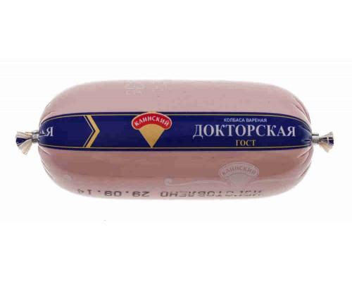 Колбаса ТМ Клинский МК, вареная Докторская 500 г