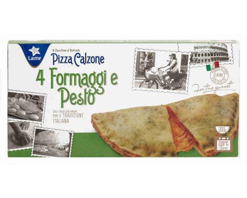 Пицца Laime Calzone 4 сыра и соус Песто 300г