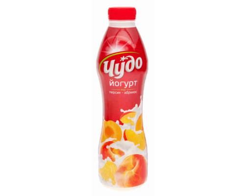 Йогурт питьевой ТМ Чудо персик/абрикос 2,4% 690г