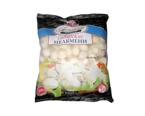 Пельмени Premium Сибирские ТМ Атяшево