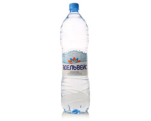 Вода питьевая негазированная ТМ Эдельвейс