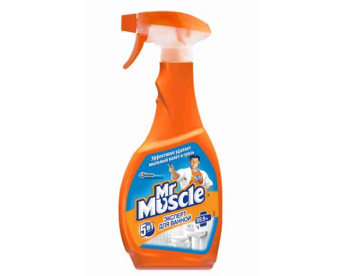Чистящее средство д/ванной Mr. Muscle 5в1 500мл