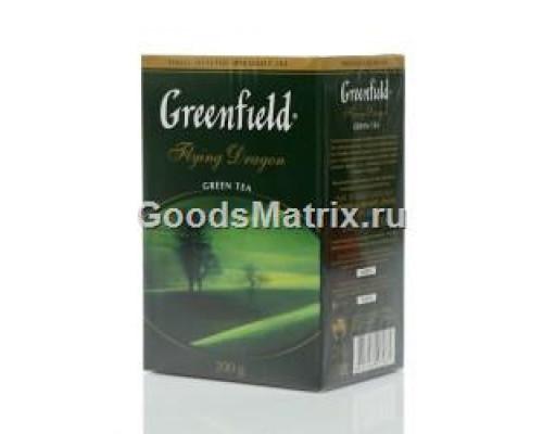 Чай зеленый Flying Dragon ТМ Greenfield (Гринфилд), 200 г