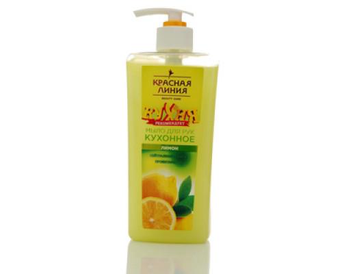 Мыло для рук кухонное лимон ТМ Красная Линия