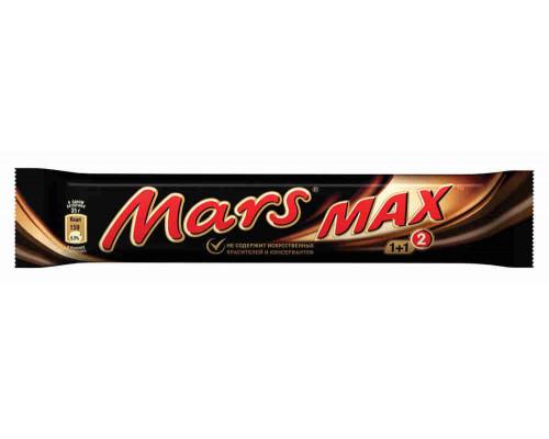 Батончик шоколадный Mars max 81г