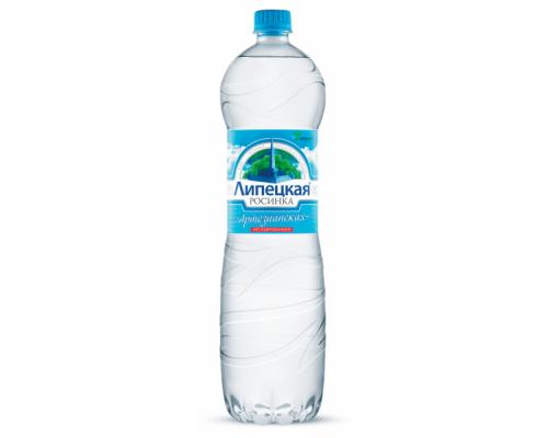 Вода Липецкая росинка, негазированная, 1,5 л