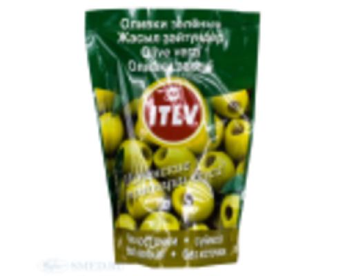 Оливки зеленые без косточек ТМ ITLV (ИТЛВ)