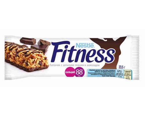 Батончик Nestle Fitness шоколад с цельными злаками 23,5г