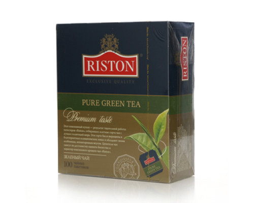 Чай зеленый Premium Taste 100*2г ТМ Riston (Ристон)