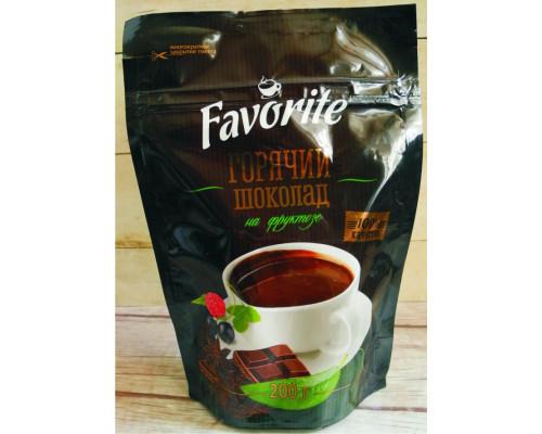 Горячий шоколад ТМ Favorite (Фаворит) на фруктозе, 200 г