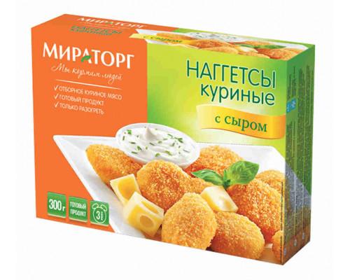 Наггетсы Мираторг c сыром 300г