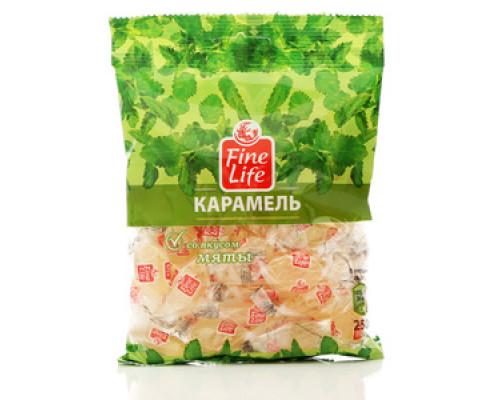 Карамель леденцовая со вкусом мяты ТМ Fine Life (Файн Лайф)