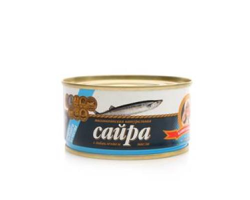 Сайра с добавлением масла ТМ Капитан вкусов