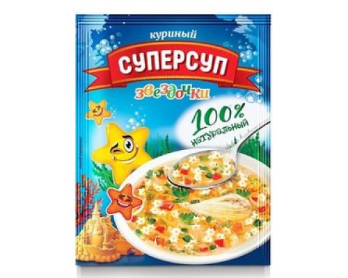 Суп ТМ Суперсуп, куриный, звездочки , 70 г