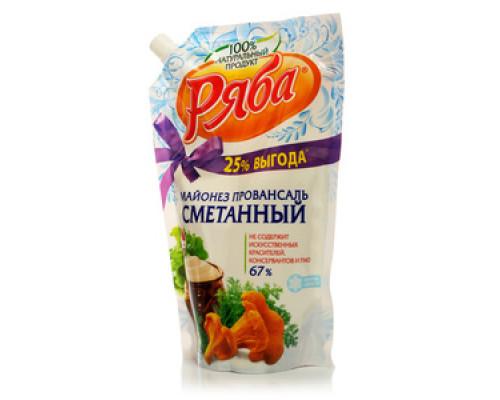 Майонез Провансаль Сметанный 67% ТМ Ряба