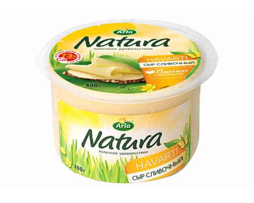 Сыр Arla Natura 45% 400г