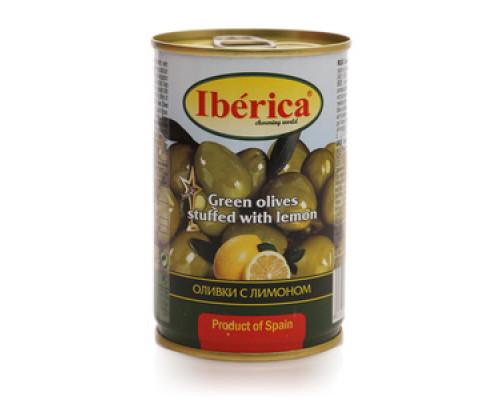 Оливки зеленые с лимоном ТМ Iberica (Иберика)