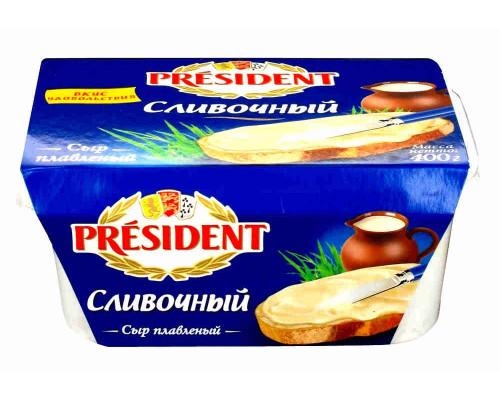Сыр плавленый President сливочный 45% 400г пл/в