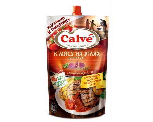 Кетчуп Calve к мясу на углях 350г д/п