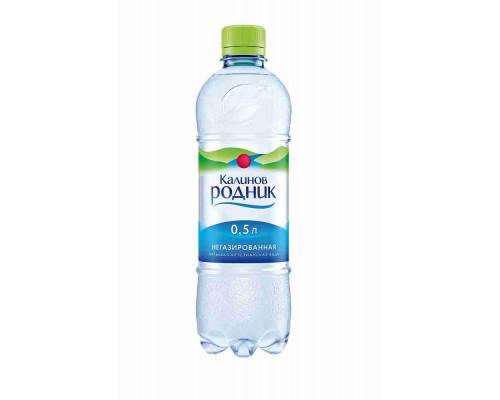 Вода питьевая Калинов Родник н/газ 0.5л пэт