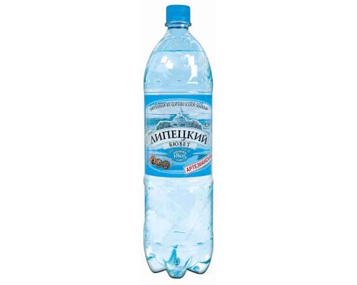 Вода питьевая Липецкий Бювет н/газ 1.5л пэт