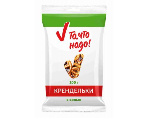 Крендельки ТЧН! с солью 100г