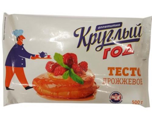 Тесто Круглый год дрожжевое, 500 г