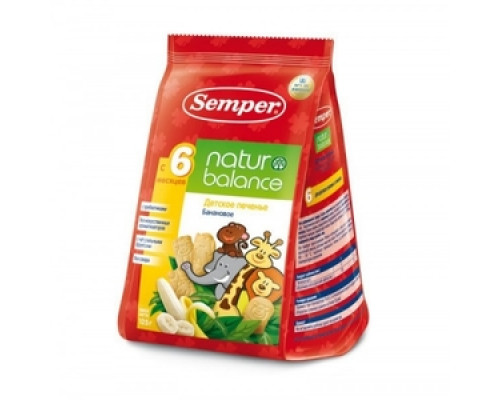 Печенье ТМ Semper (Семпер)