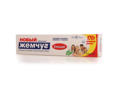 Зубная паста Кальций ТМ Новый жемчуг