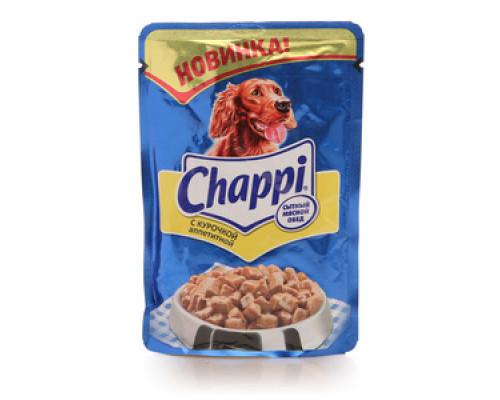 Корм консервированный для взрослых собак с курочкой ТМ Chappi (Чаппи)