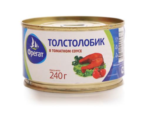 Толстолобик в томатном соусе ТМ Фрегат