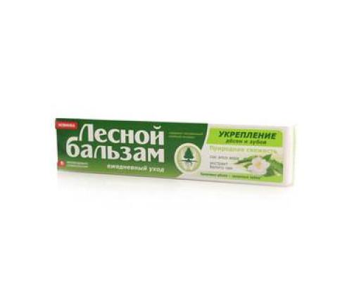 Зубная паста укрепление десен и зубов ТМ Лесной бальзам