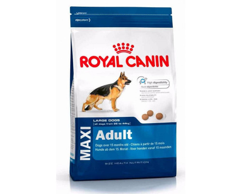 Корм для собак крупных пород Royal Canin Maxi Adult (Роял Канин Макси Эдалт) 26, 15 кг