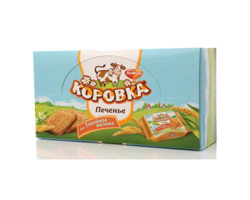 Печенье Коровка вкус Топленое молоко 18*42г ТМ РотФронт