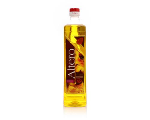 Масло подсолнечное с добавление экстракта лепестков роз ТМ Altero (альтеро)