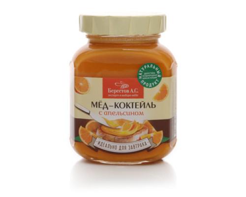 Мёд-коктейль с апельсином ТМ Берестов А.С.