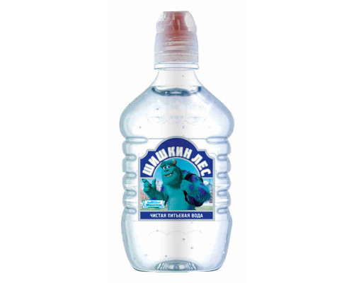 Вода питьевая Шишкин лес Disney н/газ 0.4л пэт