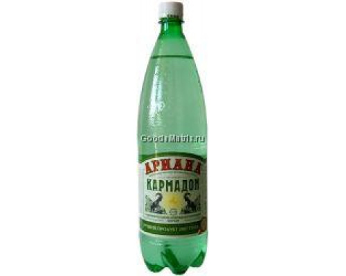 Минеральная вода ТМ Ариана, Нижний Кармадон, лечебная, питьевая, 1,5 л