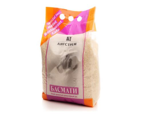 Рис Басмати белый ароматный длиннозерный ТМ Ангстрем