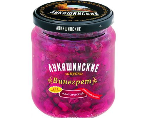 Винегрет ТМ Лукашинские закуски, классический, 420 г