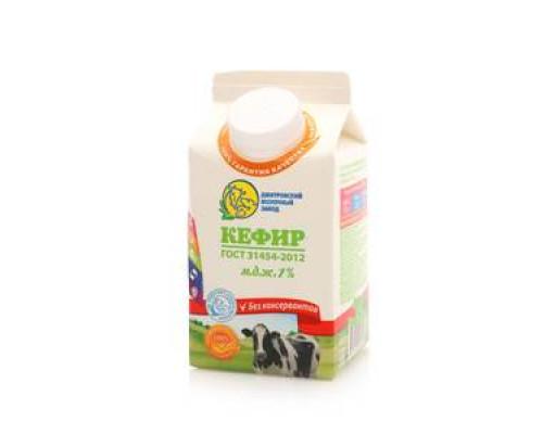 Кефир 1% ТМ Дмитровский молочный завод
