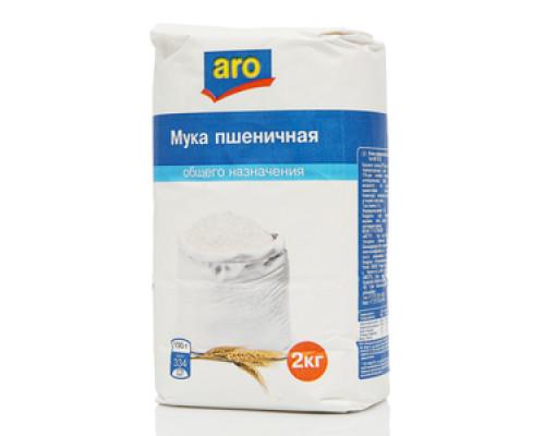Мука пшеничная хлебопекарная общего назначения ТМ Aro (Аро)