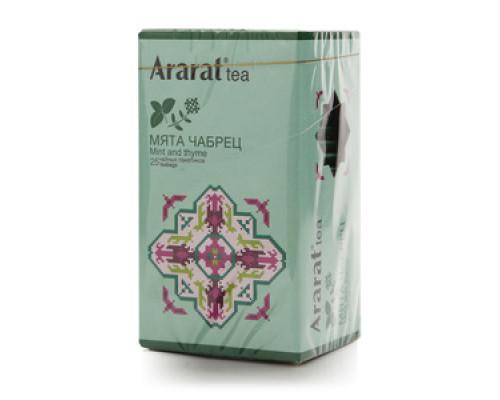 Фиточай мята-чабрец 25*1 г ТМ Ararat tea (Арарат ти)