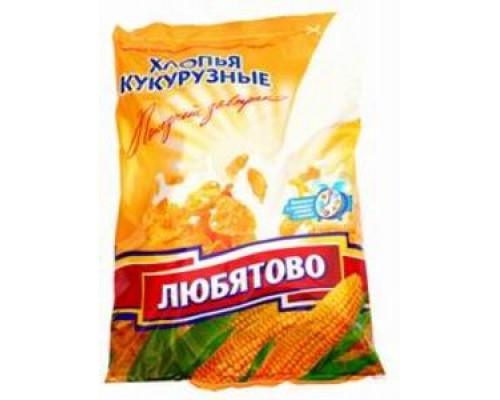 Хлопья кукурузные ТМ Любятово