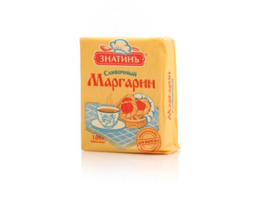 Маргарин ТМ Знатинъ сливочный, 55%, 180 г