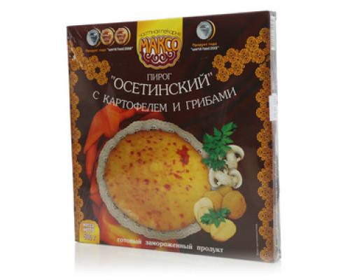 Пирог Осетинский с картофелем и грибами ТМ Максо