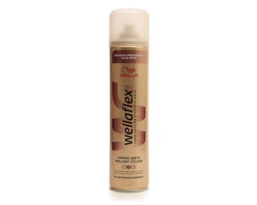 Лак для волос Сияние цвета ТМ Wellaflex (Веллафлекс )