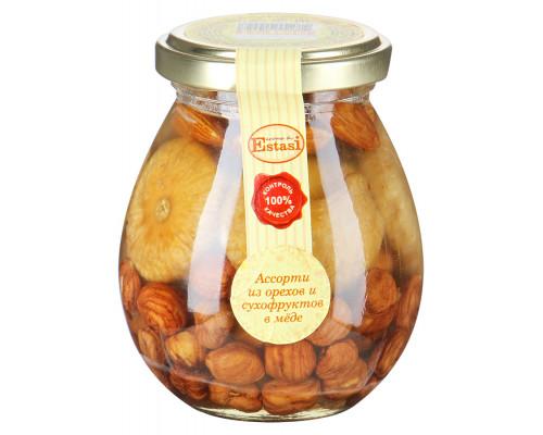 Ассорти из орехов и сухофруктов ТМ Aroma di Estasi (Арома ди Эстази) Микс №5, в меде, 320 г