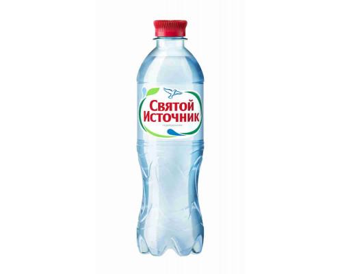 Вода питьевая Святой Источник газ стол 0.5л пэт