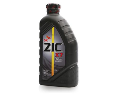 Масло синтетическое моторное  5W-40 ТМ Zic (Зик)